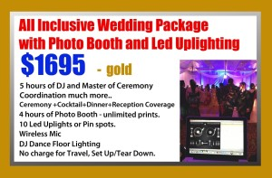 Gold Package All Inclusive DJ
