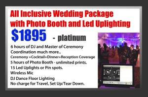 Platinum Package All Inclusive DJ