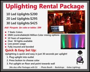 Uplighting Package