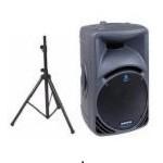 mackie speaker w stand