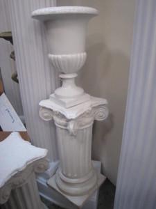 urns white